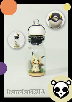 Mimikyu Miniature Bottle Necklace