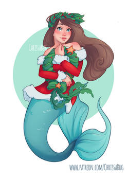 Holiday Mermaid