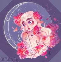 Moon Elf by ChrissaBug