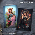 July Exclusive Persephone Prints