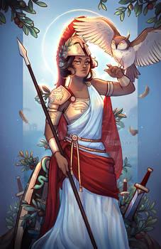 Athena, Goddess of War and Wisdom