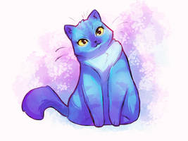 Watercolor Cat