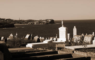monuments to our dead in Sepia by davox1