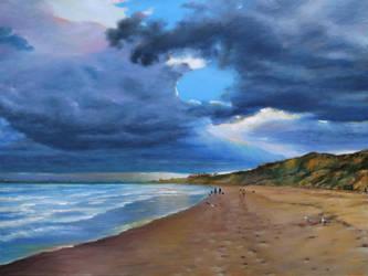 Beach Walk by Londar13