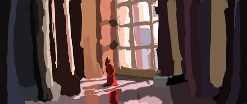 Color and Perspective Study - WIP 2019-06-14
