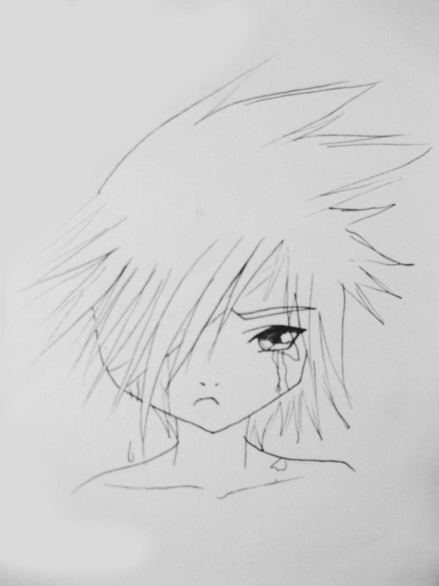 Crying Blood - Lineart by yuna-chicky-yummy on DeviantArt