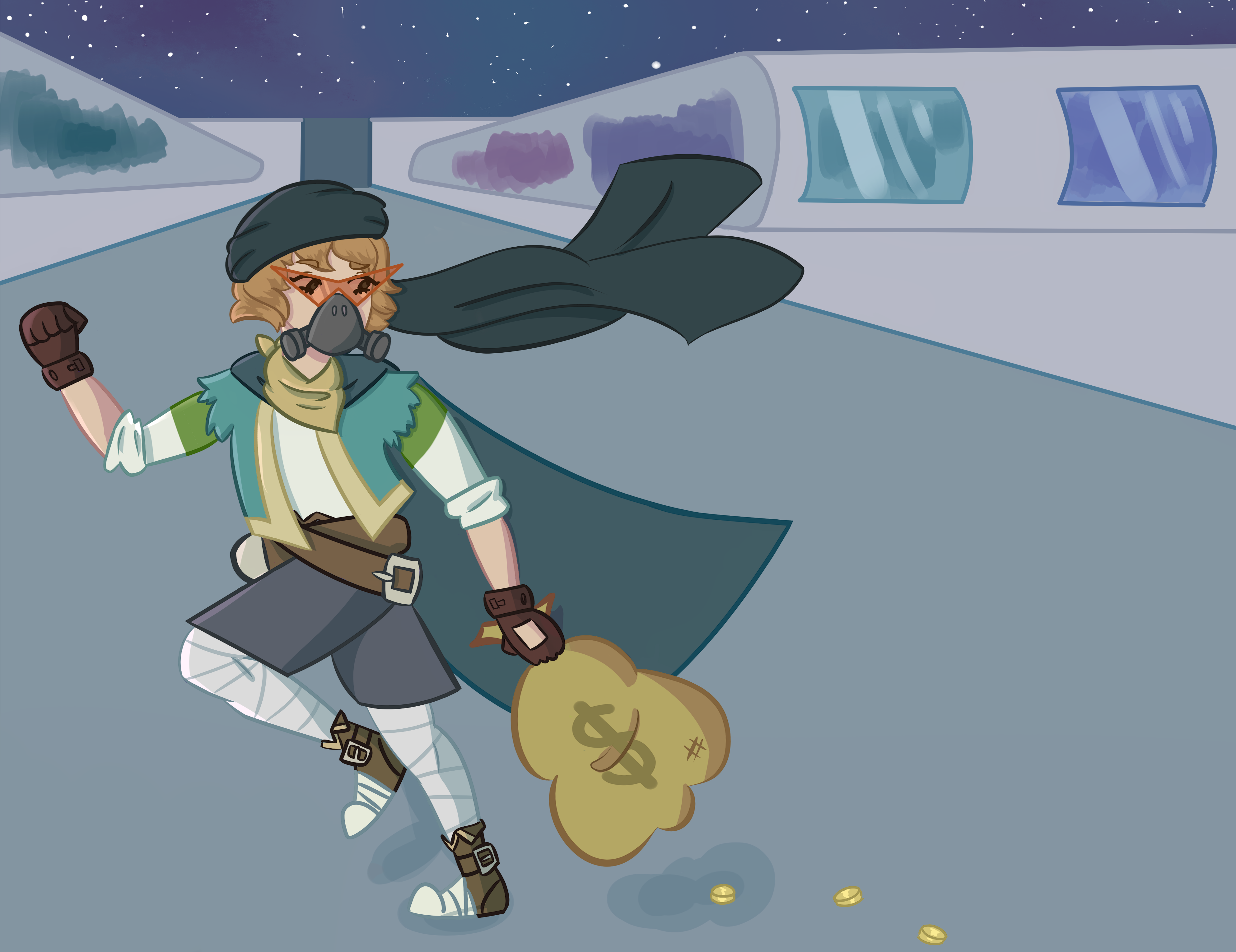 Space pir8! by TheSpiciestRamen