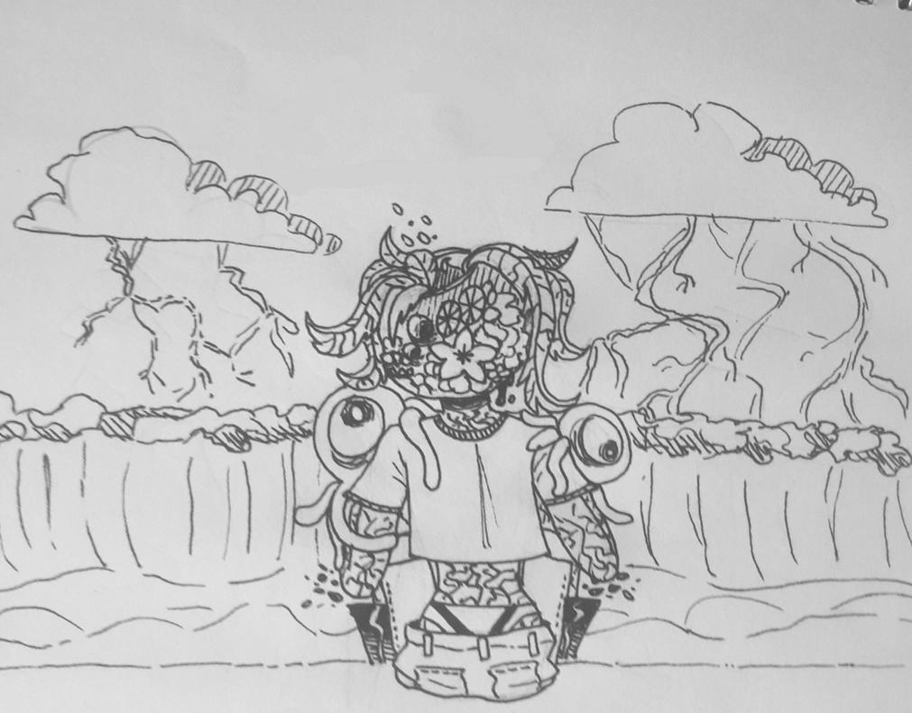 Inktober #15 - Mysterious by TheSpiciestRamen