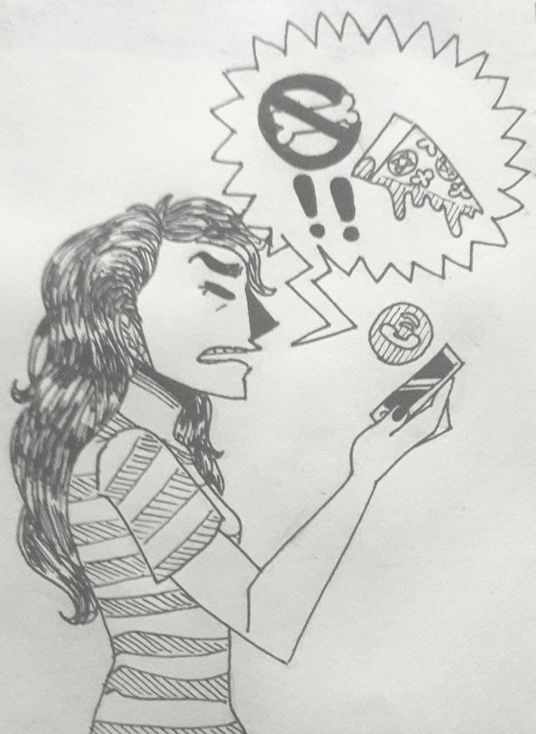 Inktober #21 - Furious by TheSpiciestRamen