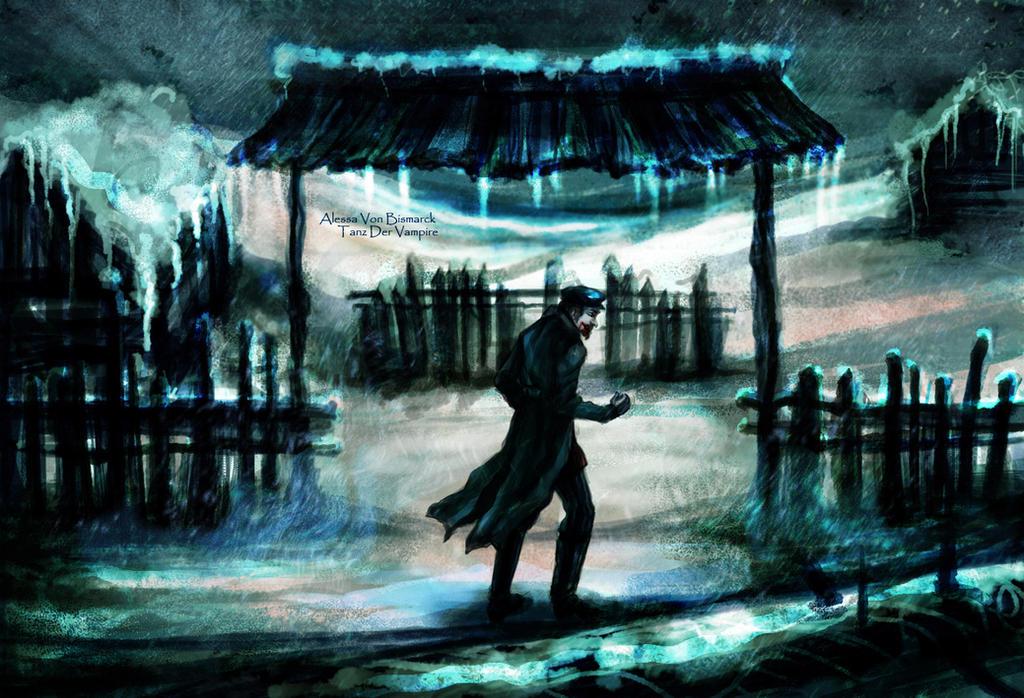 Tanz der Vampire: Shagal as a vampire by Alessa-DW