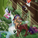 League of Legends Art Contest - Hide  Seek! by CraftingWitchery