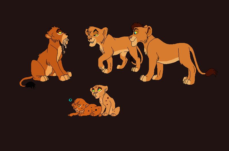 Cubs for Maaki-MuffinCake! by nazow