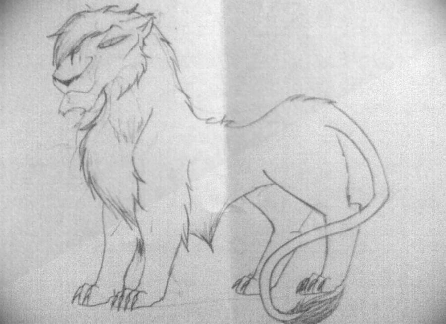 Uzuri drawing by nazow