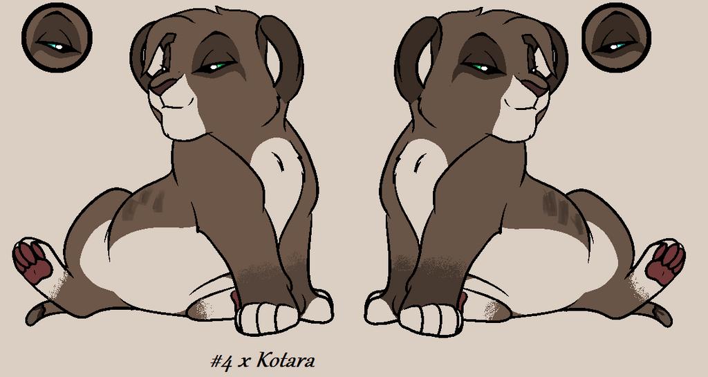 4 x Kotara by nazow
