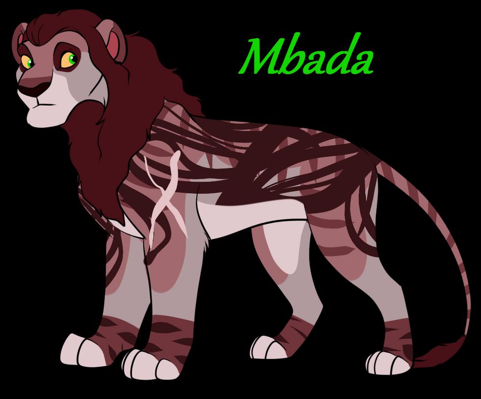 Mbada New Right paw Lion by nazow