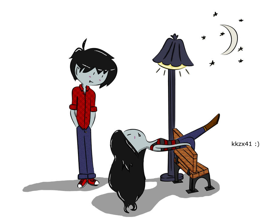 Marceline And Marshall Lee By Source