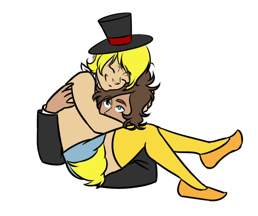 Freddy and chica by saaiie on deviantart