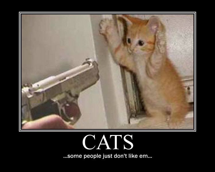 Cats Demotivational by NeonVictorian