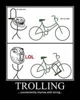Trolling Demotivational by NeonVictorian