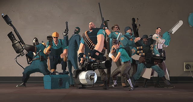 team fortress 2 meet the blu soldier