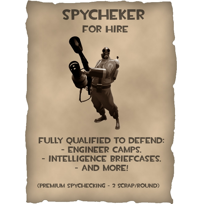 Spycheker TF2 Spray by datatoa