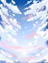 Clouds by FuzzypandaNekochan