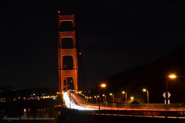 San Francisco - Golden Gate Bridge by FuzzypandaNekochan