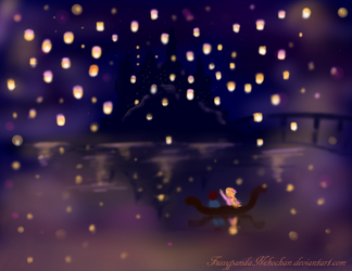 Tangled- I See the Light by FuzzypandaNekochan