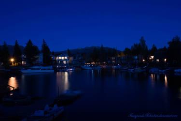 Lake Tahoe by FuzzypandaNekochan