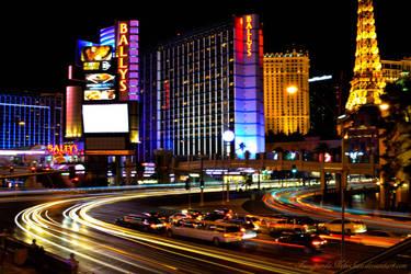 Vegas lights by FuzzypandaNekochan
