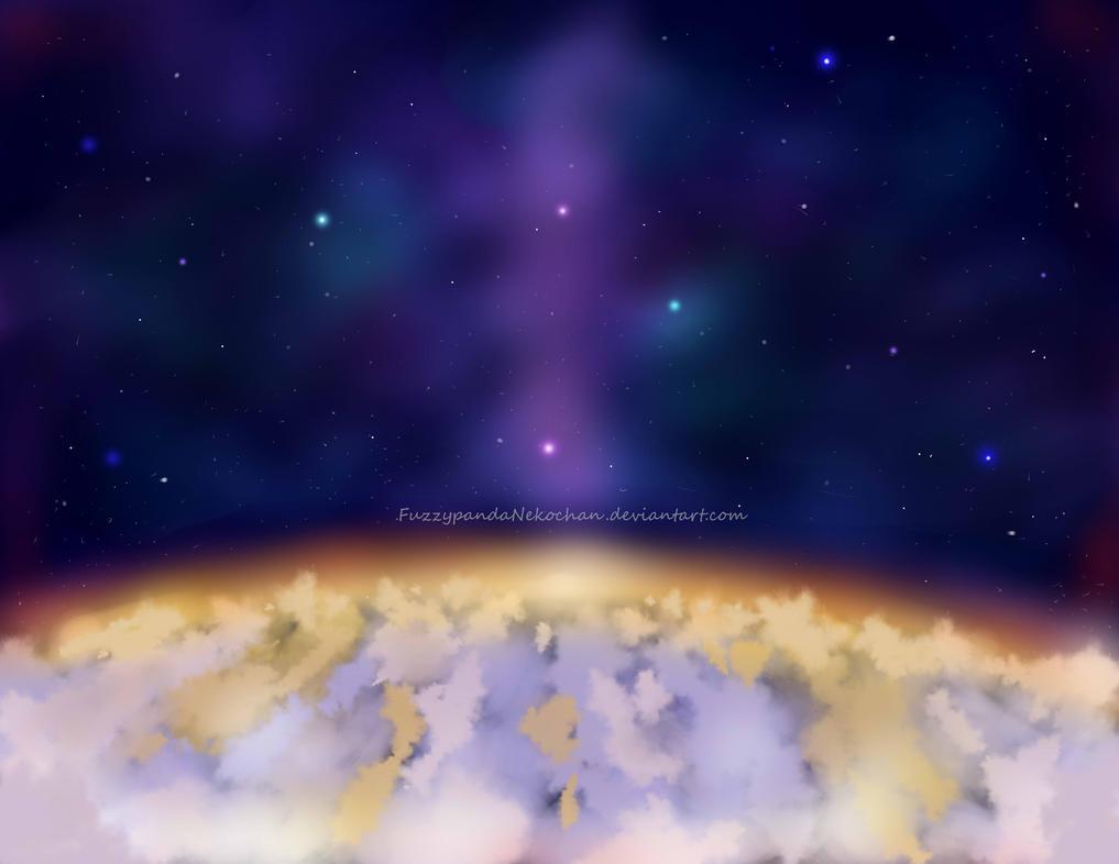 Galaxy by FuzzypandaNekochan