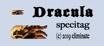 Dracula Specitag by Eliminate