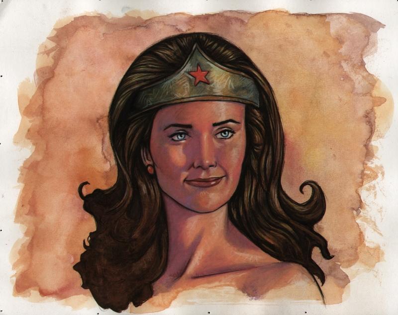 Lynda Carter Wonder Woman 2 by ssava
