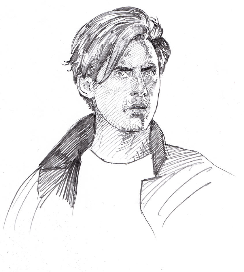 Peter Petrelli Sketch by ssava