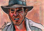 Indiana Jones Sketch Card