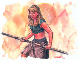 Gabrielle from Xena by ssava