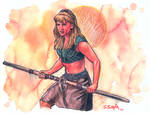 Gabrielle from Xena