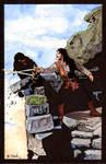 Princess Bride Sword Fight Watercolor...