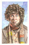 The Fourth Doctor Who Watercolor...