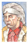 Dr. Emmett Brown from Back to the Future...