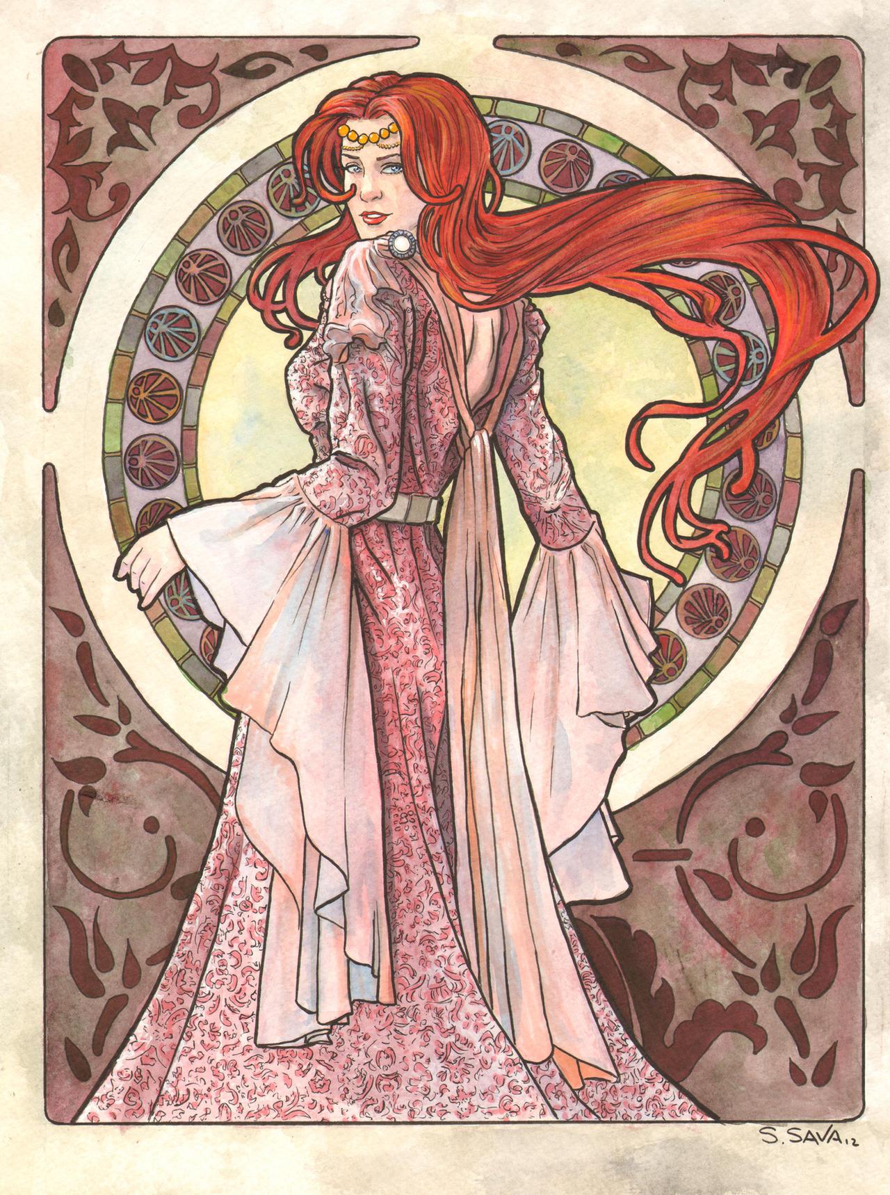 Art Nouveau 06 by ssava