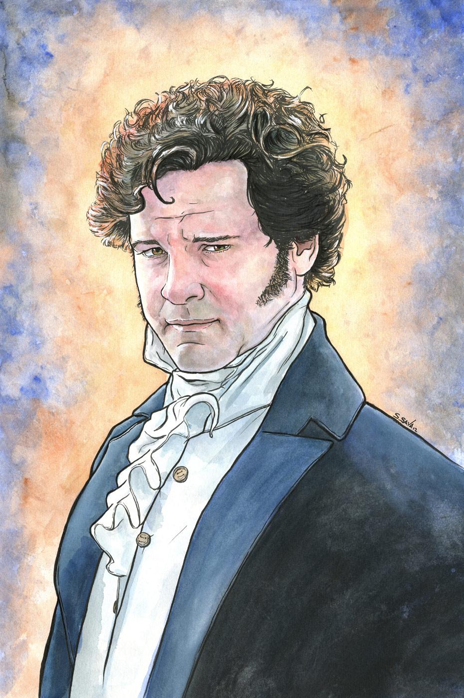Colin Firth as Mr. Dar...