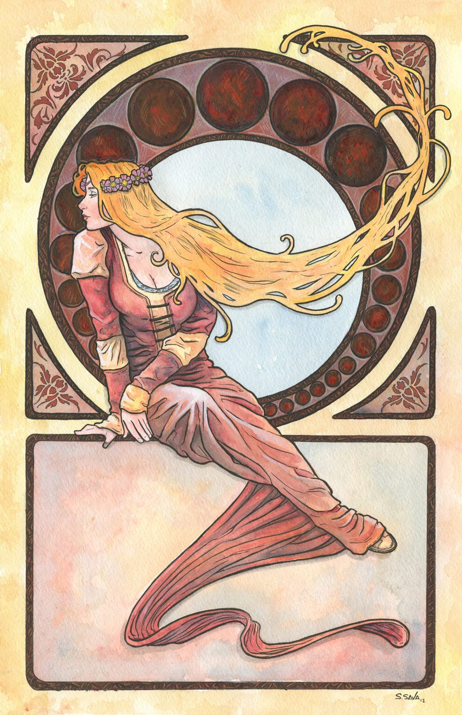 Art Nouveau 12 by ssava