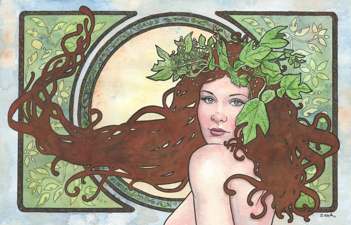 Art Nouveau 13 by ssava