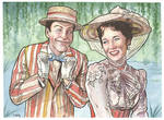 Mary Poppins and Bert...