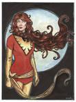 Jean Grey Phoenix from Xmen...