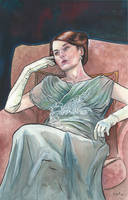 Downton Abbey's Lady Mary by ssava