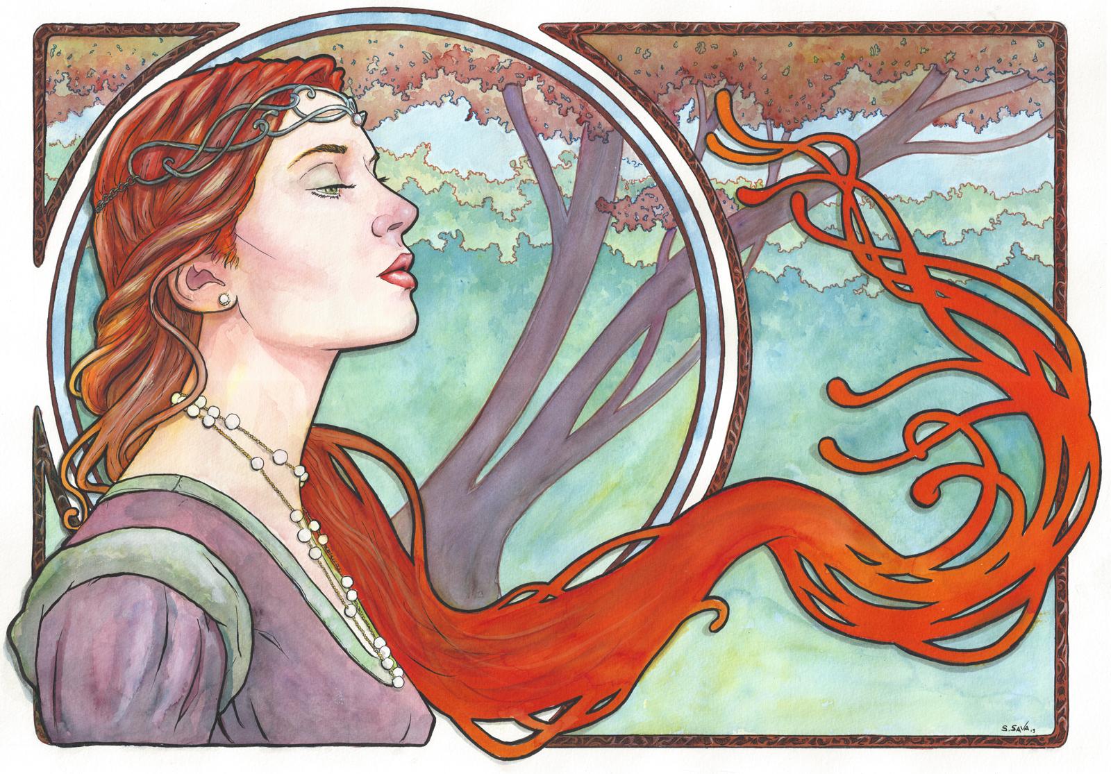 Art Nouveau 17... by ssava on DeviantArt