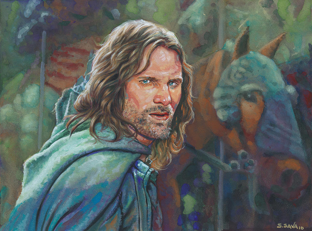Aragorn by ssava