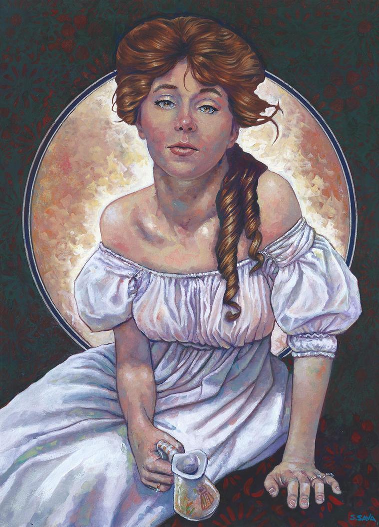 Evelyn Nesbit by ssava
